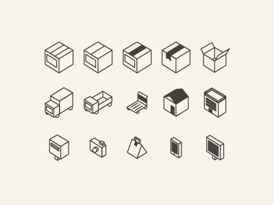 Flat 3D Icon set icon flat 3d free download