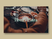 Pizza Restaurant UI Design