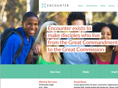 Encounter web