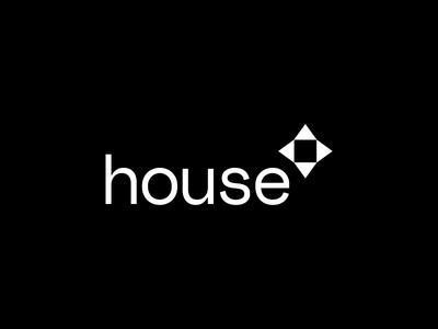 House Logo Concept - 2 cross house logo