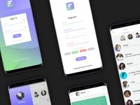 Lurkchat mobile application