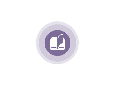Reading book icon read