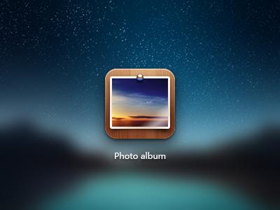 Photo album photo icon meizu
