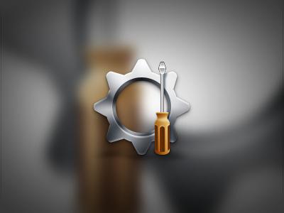 Settings screwdriver tool tools gears gear