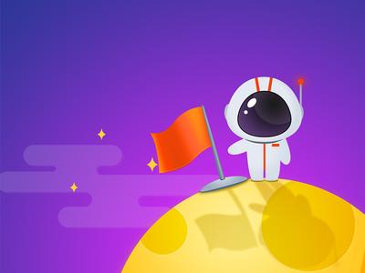 404 astronaut moon 404