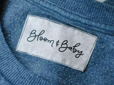 Baby clothing line logo