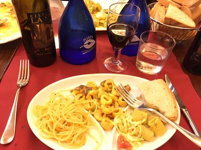 Paaaaastaaaaaaa foodie pasta authentic florence italy study abroad max swahn