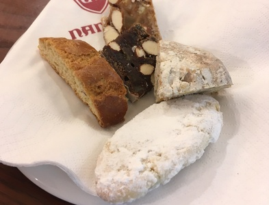 And dessert....... sweets foodie authentic florence italy mouth watering max swahn