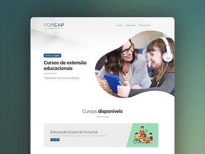 Website for Educational Institution