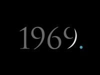 1969 - Year of the moonlanding