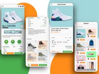 Redesigned e-commerce app UI