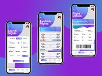 Booking Flight App UI