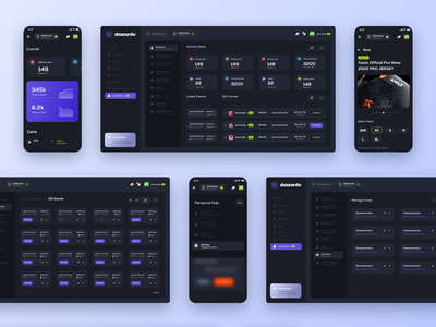 Cryptocurrency dashboard ragebite esports trademark banking wallet bitcoin trade uidesign product page figma ux ui dashboard crypto gaming