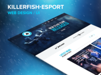 KILLERFISH eSport Web Design