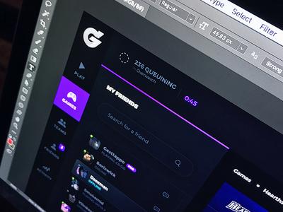 eSports & Gaming dashboard platform webdeign website app games ragebite ux ui modern dashboard gaming esports
