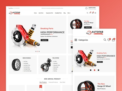 Autofab Car Spare Parts And Tools Store