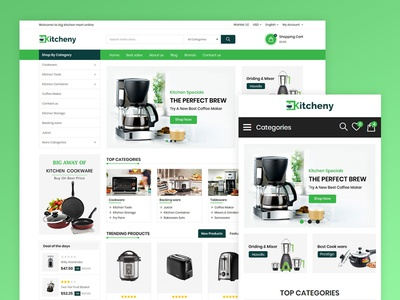 Kitcheny Kitchen Store Template