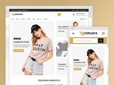 Coplons Fashion Store Template