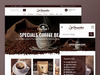 Brewistor - Coffee Store Template