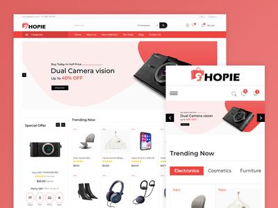 Shopie Electronics Mega Store Template