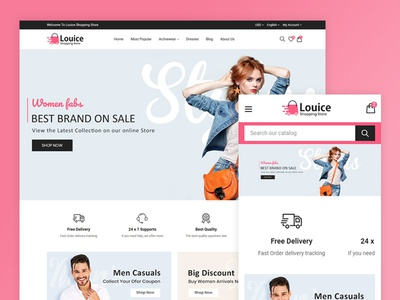 Louice Moda - Fashion Store Template