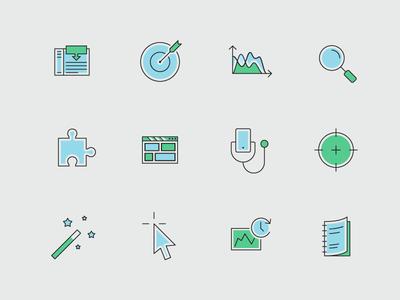 Icons set - part 2 presentation outline medicine icon set icons flat consistent case study business