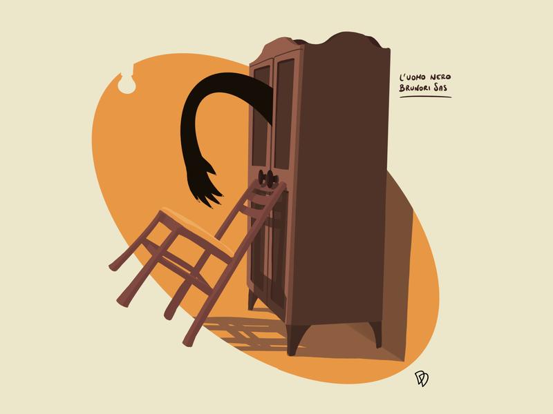 Boogie Man fascism black procreate brush flat illustration flatdesign flat sketch illustration artwork