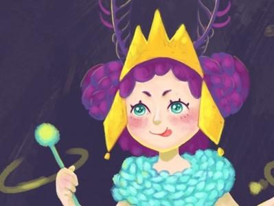 Princess cozy yarn