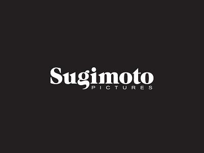 Sugimoto Pictures pictures film logo identity branding wordmark typography