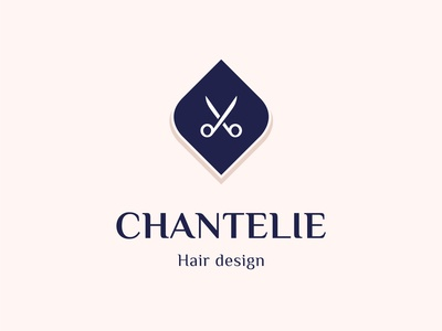 Chantelie - Hair design logo