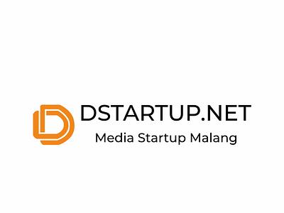 DSTARTUP LOGO startup logodesign logotype vector art type minimal illustration typography logo branding design