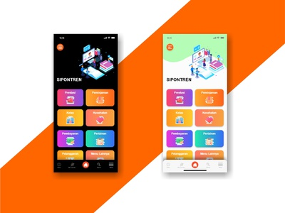 SIPONTREN APP DESIGN dashboard design dashboard app dashboard ui dashboad appdevelopment appdevelopers appdesign application ui design uidesign uiux app ux ui design