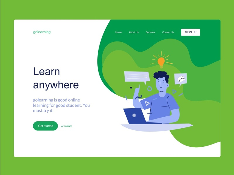 GOLEARNING WEB DESIGN