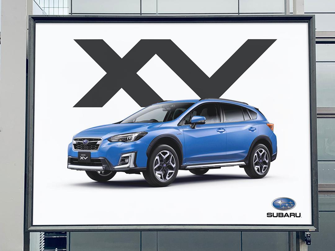 XV Ad thick lines xv v x minimal blue ad suv initials monogram emblem logo brand auto car