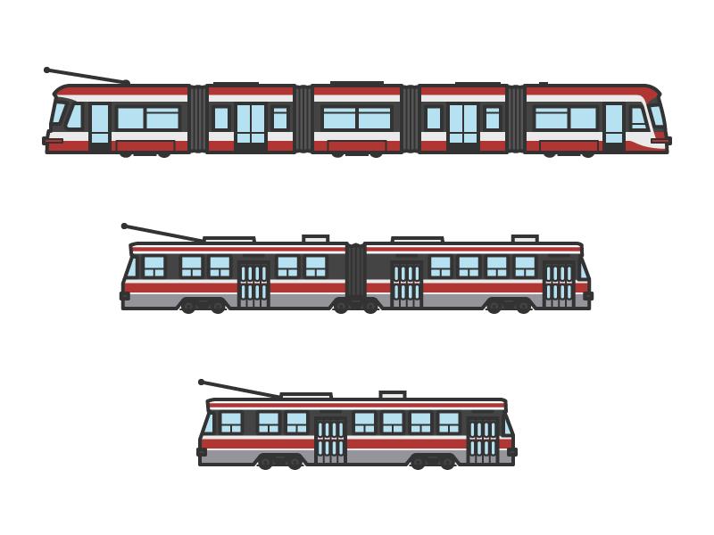 Toronto Streetcars ttc transportation public transit streetcar toronto