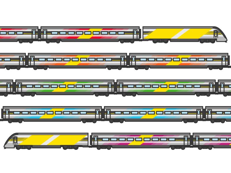 Brightline florida transit train