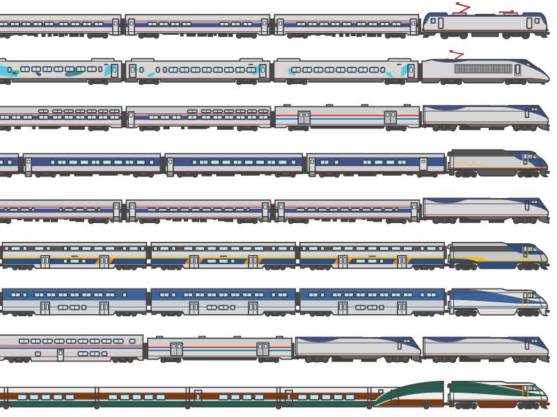 Amtrak transit transportation passenger train amtrak
