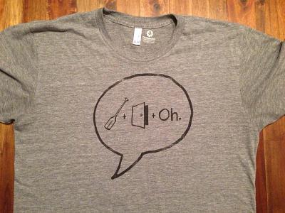 Ordoro Rebus Tee ordoro tshirt handdrawn illustration rebus american apparel