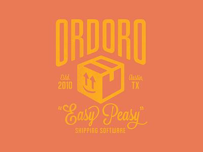 Ordoro Easy Peasy Shipping Software T-shirt ordoro vintage t-shirt sxsw