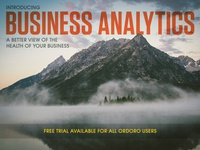 Business Analytics Email Header
