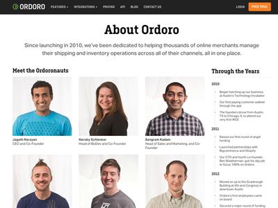Refreshed Ordoro Marketing Site