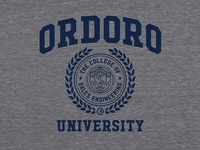 Ordoro University T-Shirt