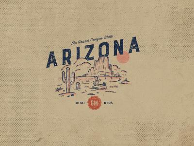 Arizona print logo icon vector logo design icon design digital art design illustration art direction