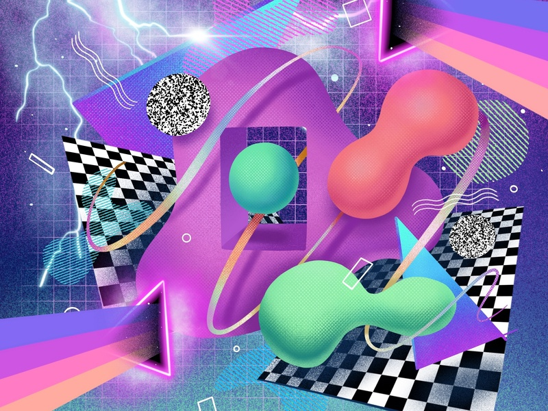 O B L I V I O N precreateapp illustrator mark procreate branding logo vector print icon flat logo design icon design digital art design illustration art direction