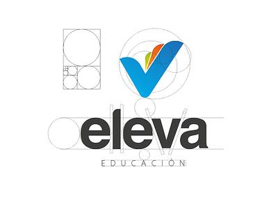 Eleva Educación logotype education logotype