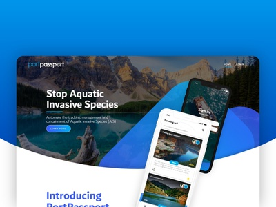Portpassport Website website webdesign