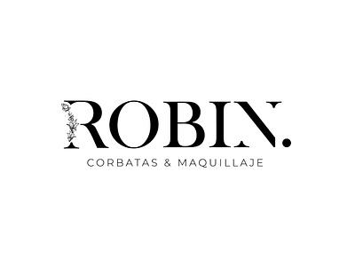 Robin Logo clothes shop branding logo design