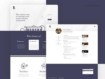 3octaves Website ux ui design web  design