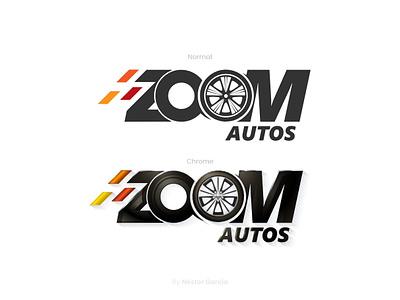 Zoom Logo design logotype design car  auto auto logo branding logo design branding