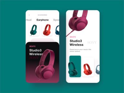 Beats App UI